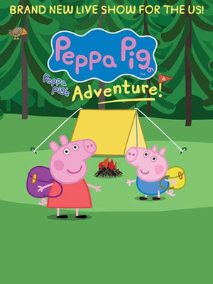 Peppa Pig Live, Warnors Theater, Fresno