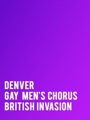 Denver Gay Mens Chorus Poster