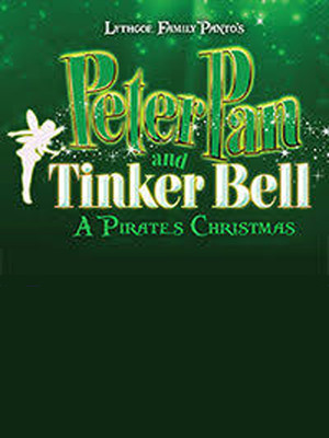 Peter Pan and Tinkerbell: A Pirates Christmas Poster