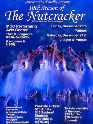 Arizona Youth Ballet - The Nutcracker Poster