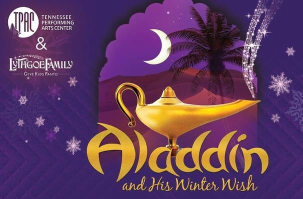 Aladdin and His Winter Wish, James K Polk Theater, Nashville