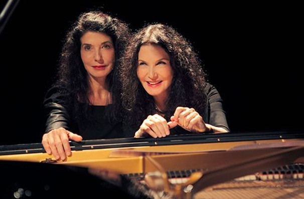 Catch San Francisco Symphony - The Labeque Sisters it's not here long!