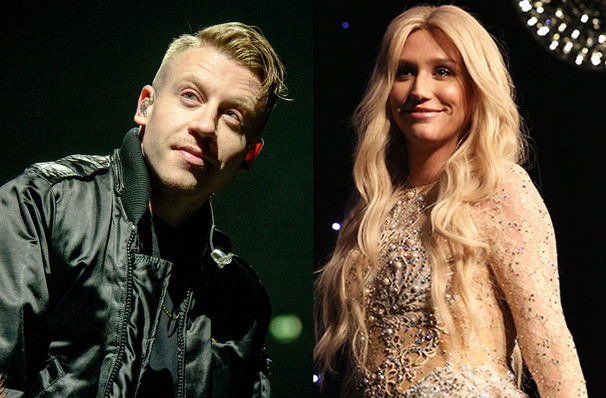 Kesha and Macklemore, Cynthia Woods Mitchell Pavilion, Houston