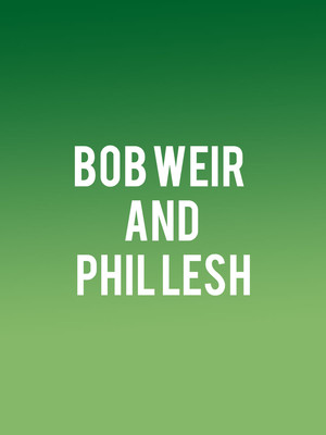 Bob Weir and Phil Lesh Poster