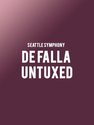 Seattle Symphony - De Falla Untuxed at Benaroya Hall