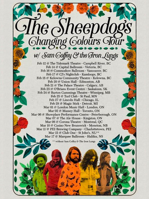 The Sheepdogs Poster