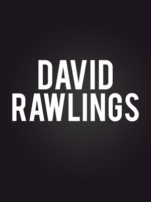 David Rawlings at Haw River Ballroom