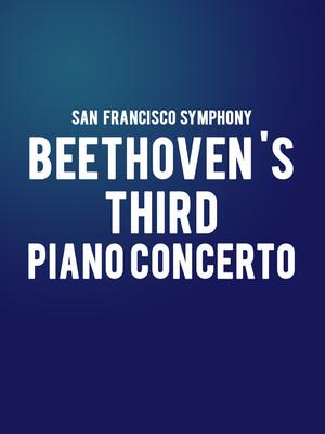 san francisco symphony beethoven s third piano concerto tickets