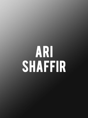 Ari Shaffir at Neptune Theater