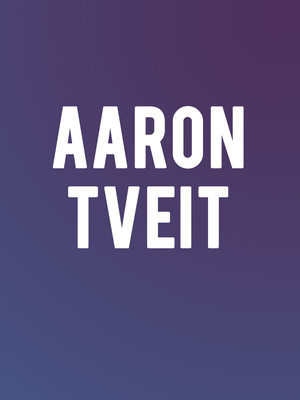 Aaron Tveit, Appel Room, New York