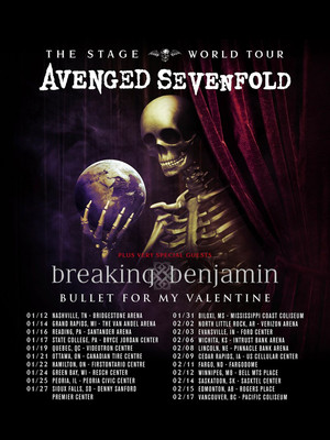 Avenged Sevenfold at Van Andel Arena