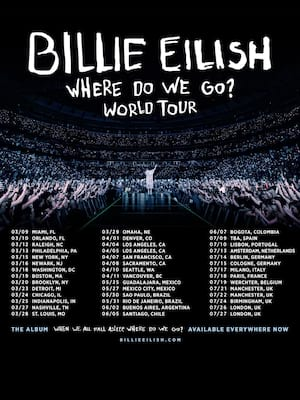 Billie Eilish at PNC Arena