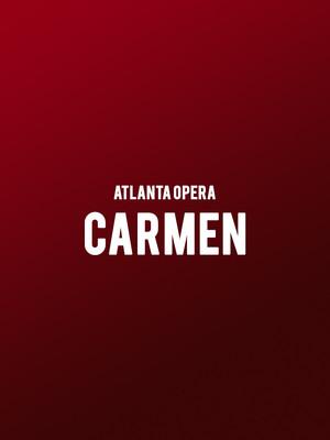 Atlanta Opera - Carmen Poster