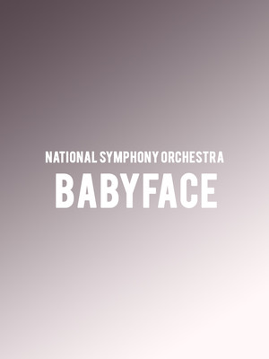 National Symphony Orchestra - Babyface Poster