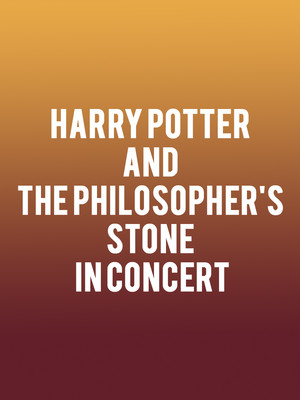 Harry Potter and the Philosopher's Stone in Concert Poster