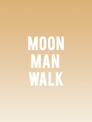 Moon Man Walk Poster