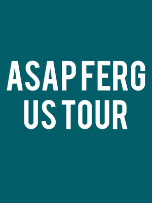 ASAP Ferg, The El Rey Theater, Albuquerque