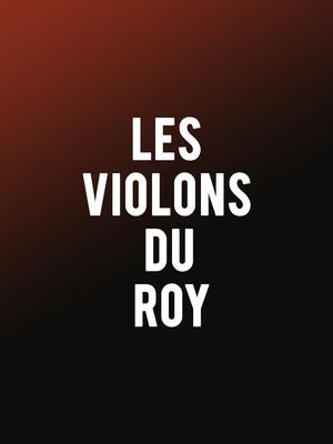 Les Violons Du Roy Poster