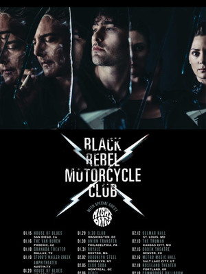 Black Rebel Motorcycle Club, Cats Cradle, Durham