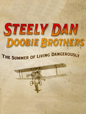 Steely Dan and The Doobie Brothers Poster