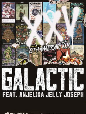 Galactic at Majestic Ventura Theater