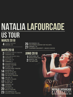 Natalia Lafourcade, House of Blues, Dallas