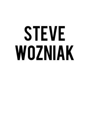 Steve Wozniak Poster
