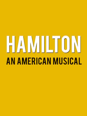 Hamilton at Orpheum Theater