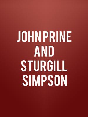 John Prine and Sturgill Simpson Poster
