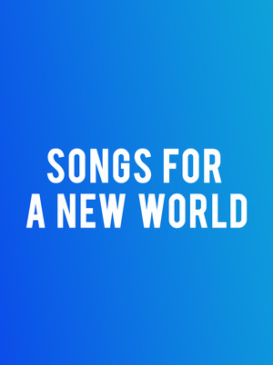 Songs for a New World at New York City Center Mainstage