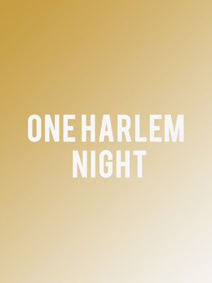 One Harlem Night Poster
