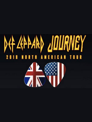 Journey and Def Leppard Poster