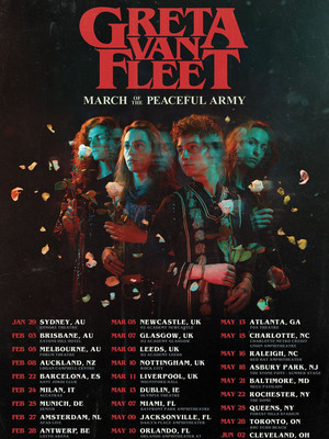 Greta Van Fleet at Marquee Theatre
