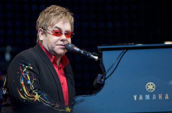 Just one chance to see Elton John