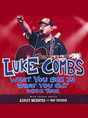 Luke Combs at Red Rocks Amphitheatre
