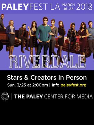 Paleyfest - Riverdale Poster