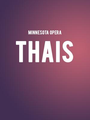 Minnesota Opera - Thais Poster