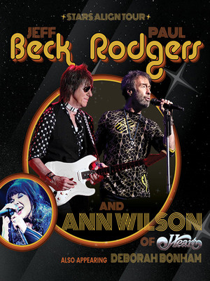 Jeff Beck and Paul Rodgers Poster