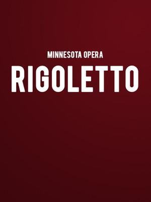 Minnesota Opera Rigoletto, Ordway Music Theatre, Saint Paul