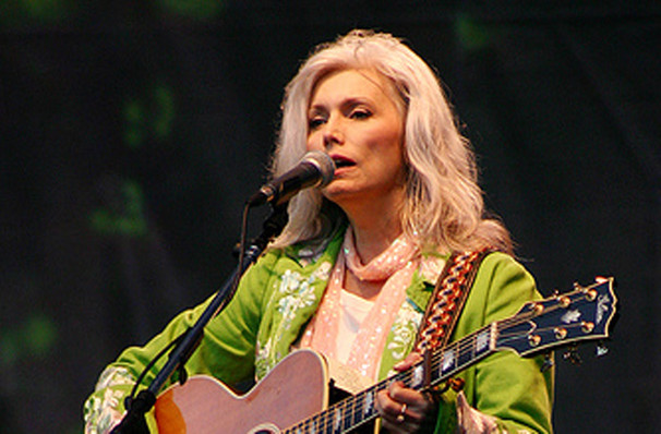 Emmylou Harris, Pabst Theater, Milwaukee
