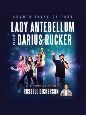 Lady Antebellum with Darius Rucker and Russell Dickerson Poster