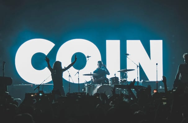 COIN, Music Farm, North Charleston