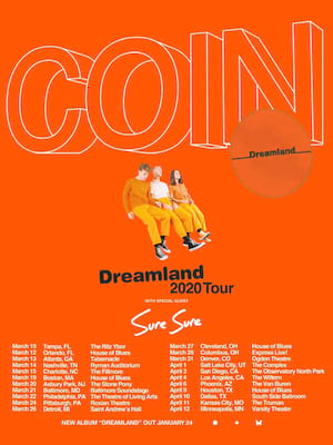 COIN, Brooklyn Steel, Brooklyn