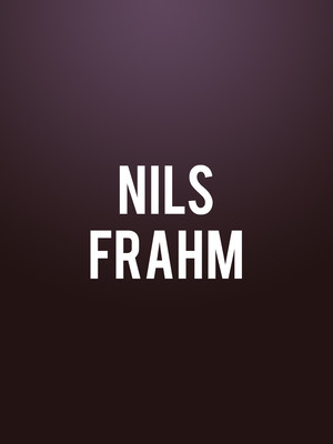 Nils Frahm, Carolina Theatre Fletcher Hall, Durham