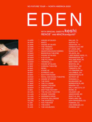 EDEN, House of Blues, Houston