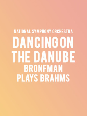 National Symphony Orchestra - Dancing on the Danube Poster
