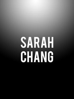 Sarah Chang Poster