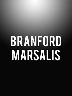 Branford Marsalis, Indiana University Auditorium, Bloomington