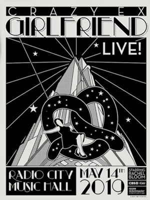 Crazy Ex Girlfriend Live Poster