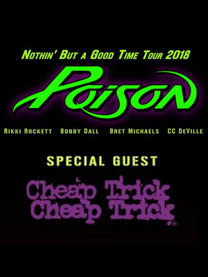 Poison with Cheap Trick Poster